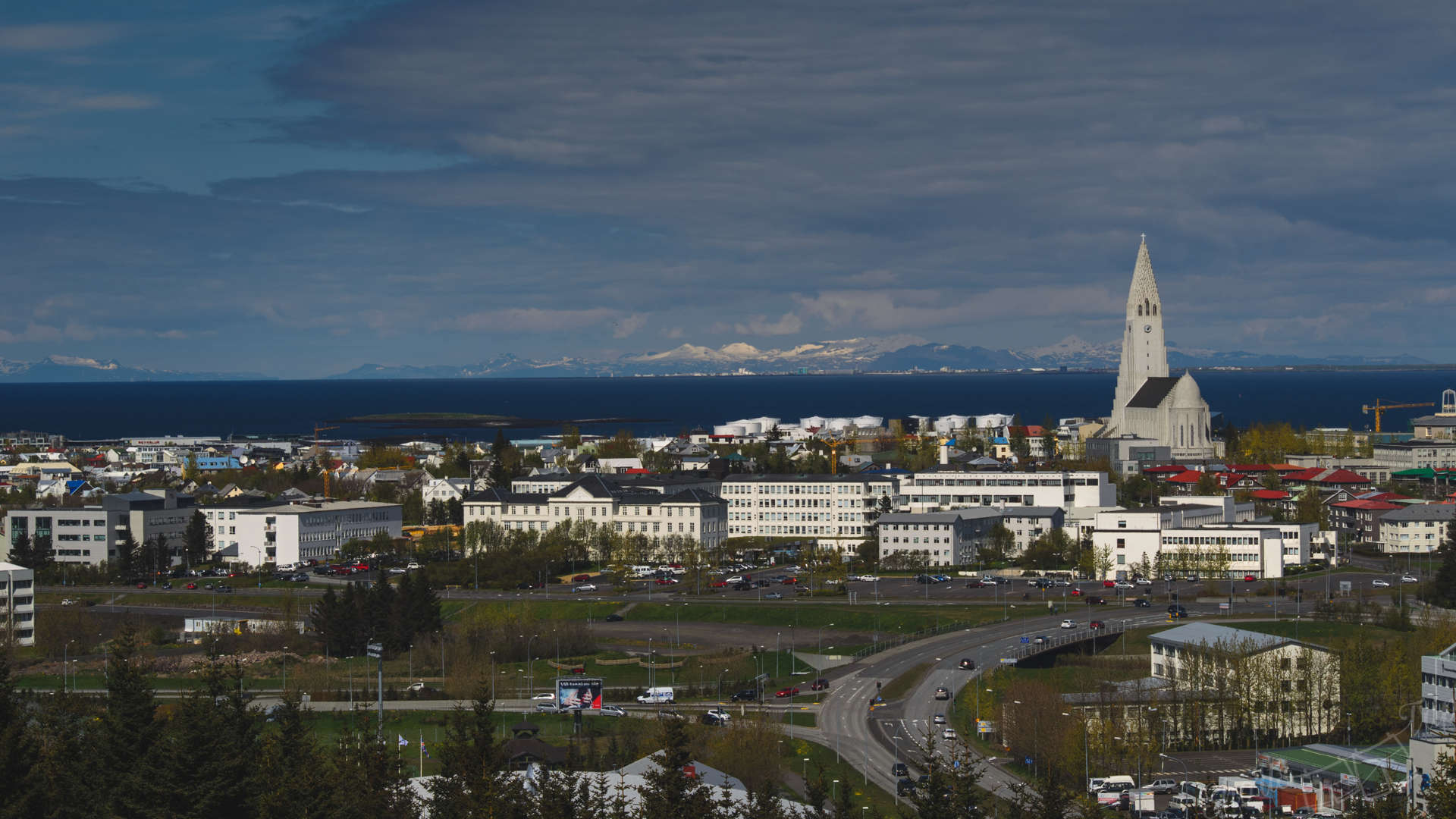 reykjavik, reykjavik observation, reykjavik panorama