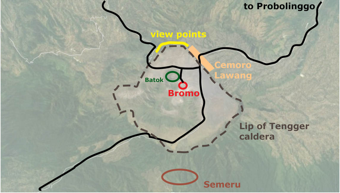 bromo infographics, bromo map, bromo guide, bromo how to, bromo prices, bromo best viewpoints
