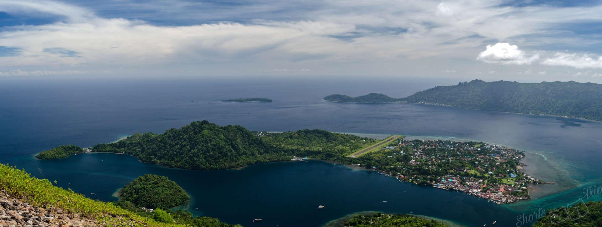 banda neira, banda islands, banda neira airport, pulau api, api island, hike api islands, climb pulau api, how to travel banda islands