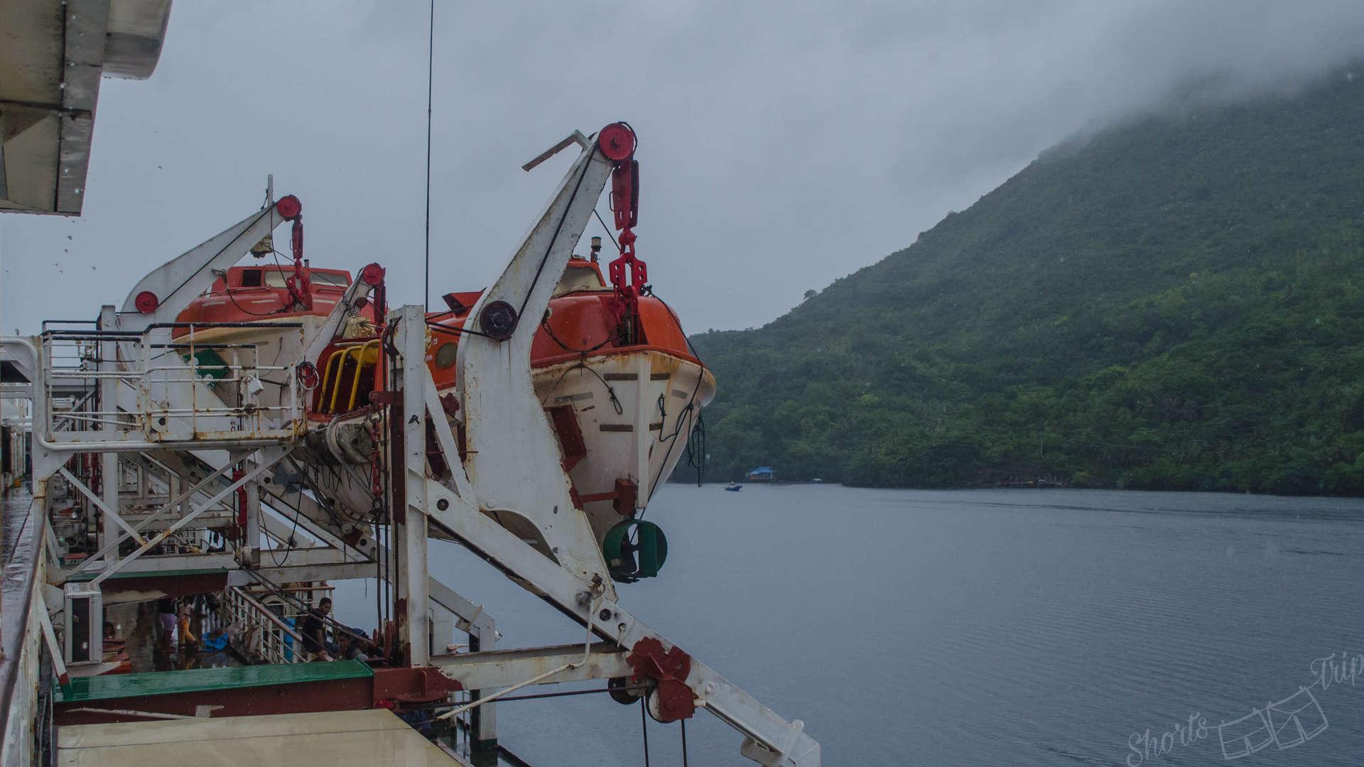pelni emergency boat, pelni security, pelni travel, pelni experience