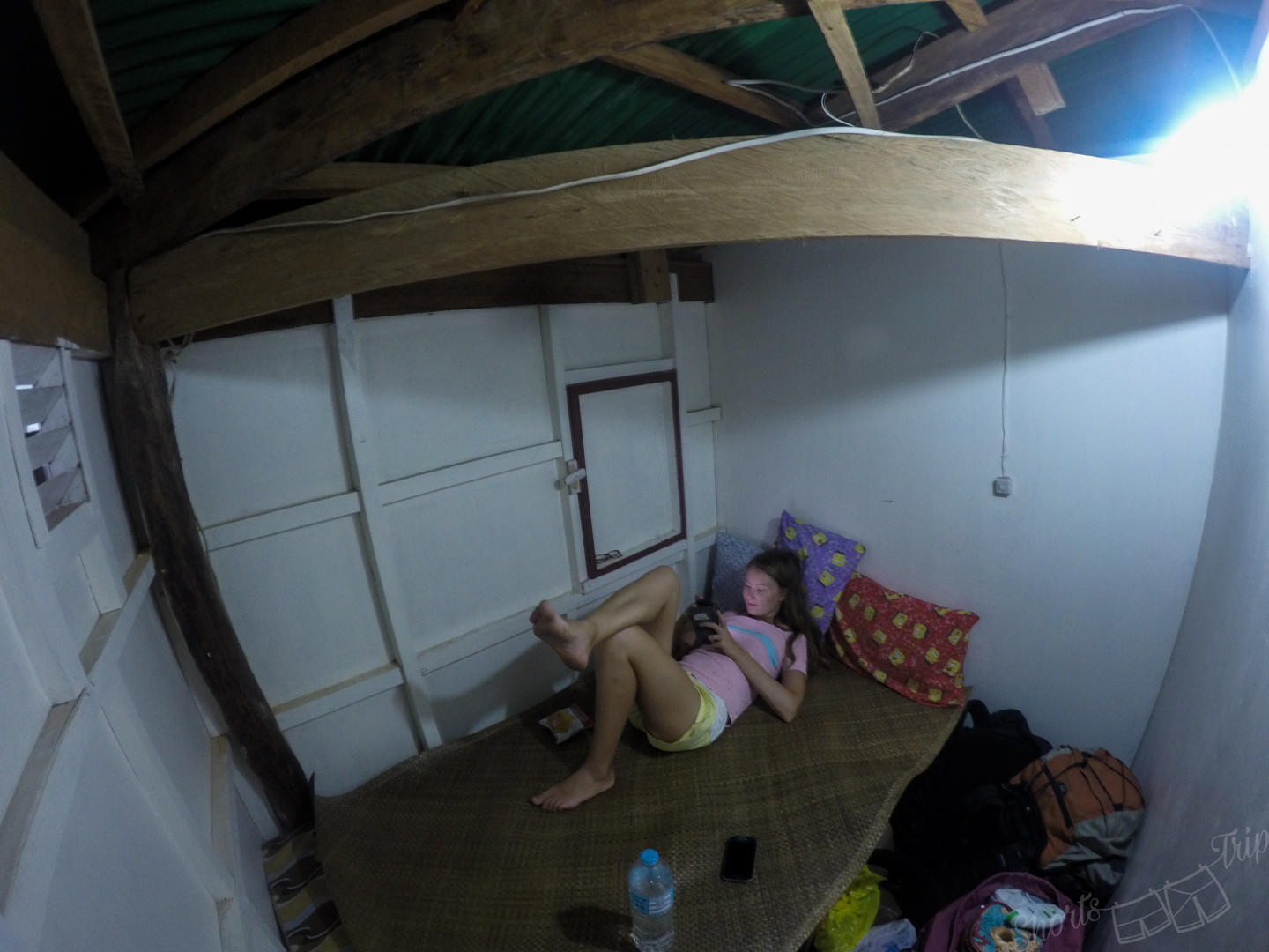 libertad port room, cheapest room in SEA, must know before heading to Philippines
