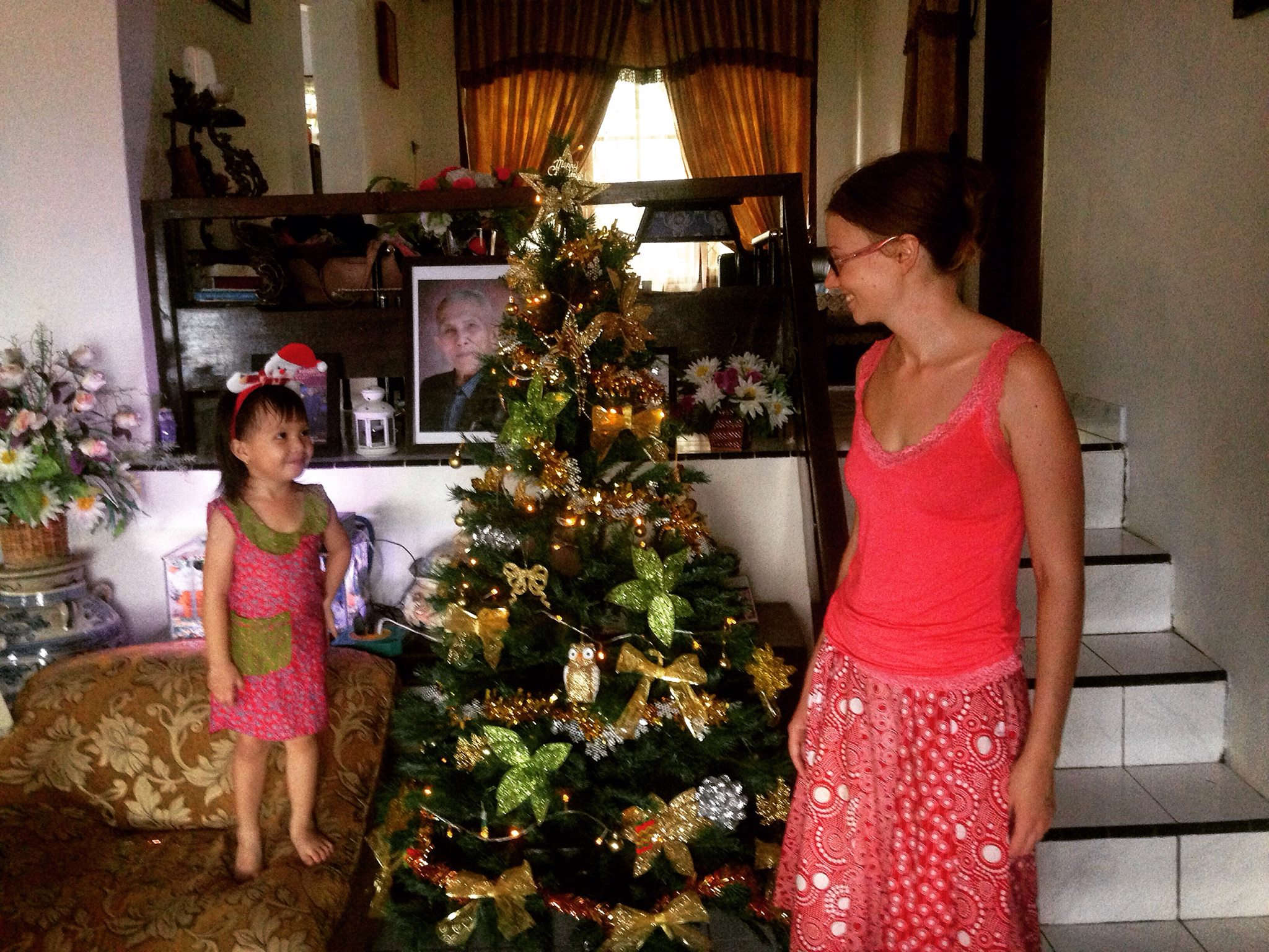 christmas tree pink, christmas tree cute, christmas tree indonesia, christian indonesia