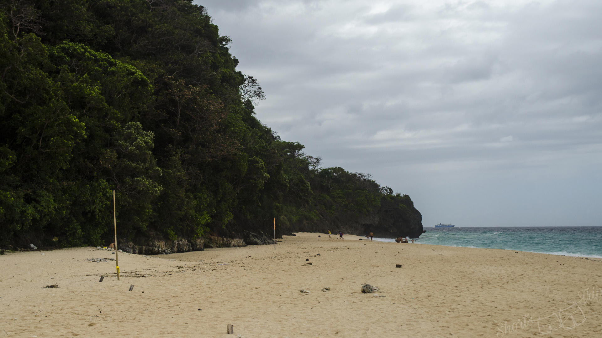 puka beach, boracay puka beach, puka beach without people