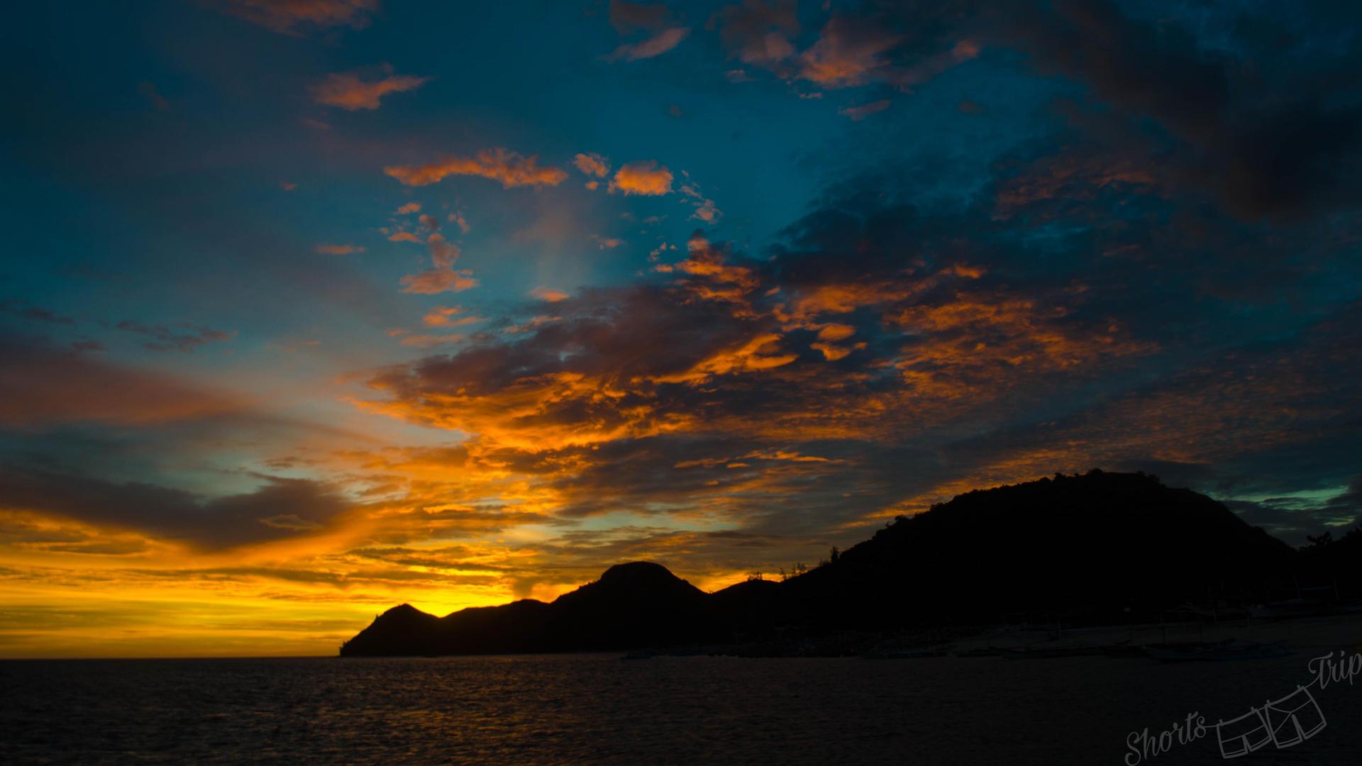 mararison sunset, malalison sunset, mararison, malalison beach