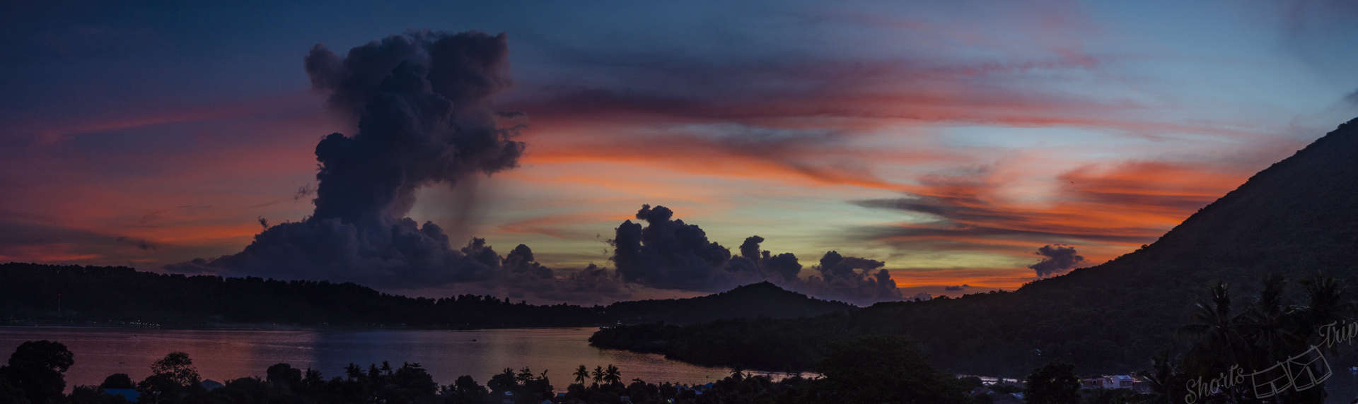 fort belgica, most beautiful sunset indonesia, banda islands indonesia, banda islands, fort belgica sunset, fort belgica view