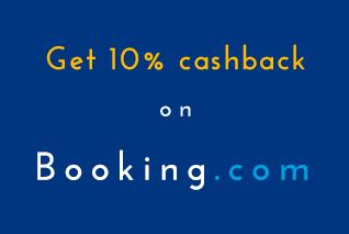 booking banner, booking.com cashback