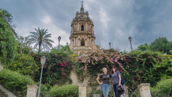 sicily 4 day itinerary, couple travel sicily, what to see in sicily, itinerary for sicily, friends traveling in sicily, modica flowers, modica travel
