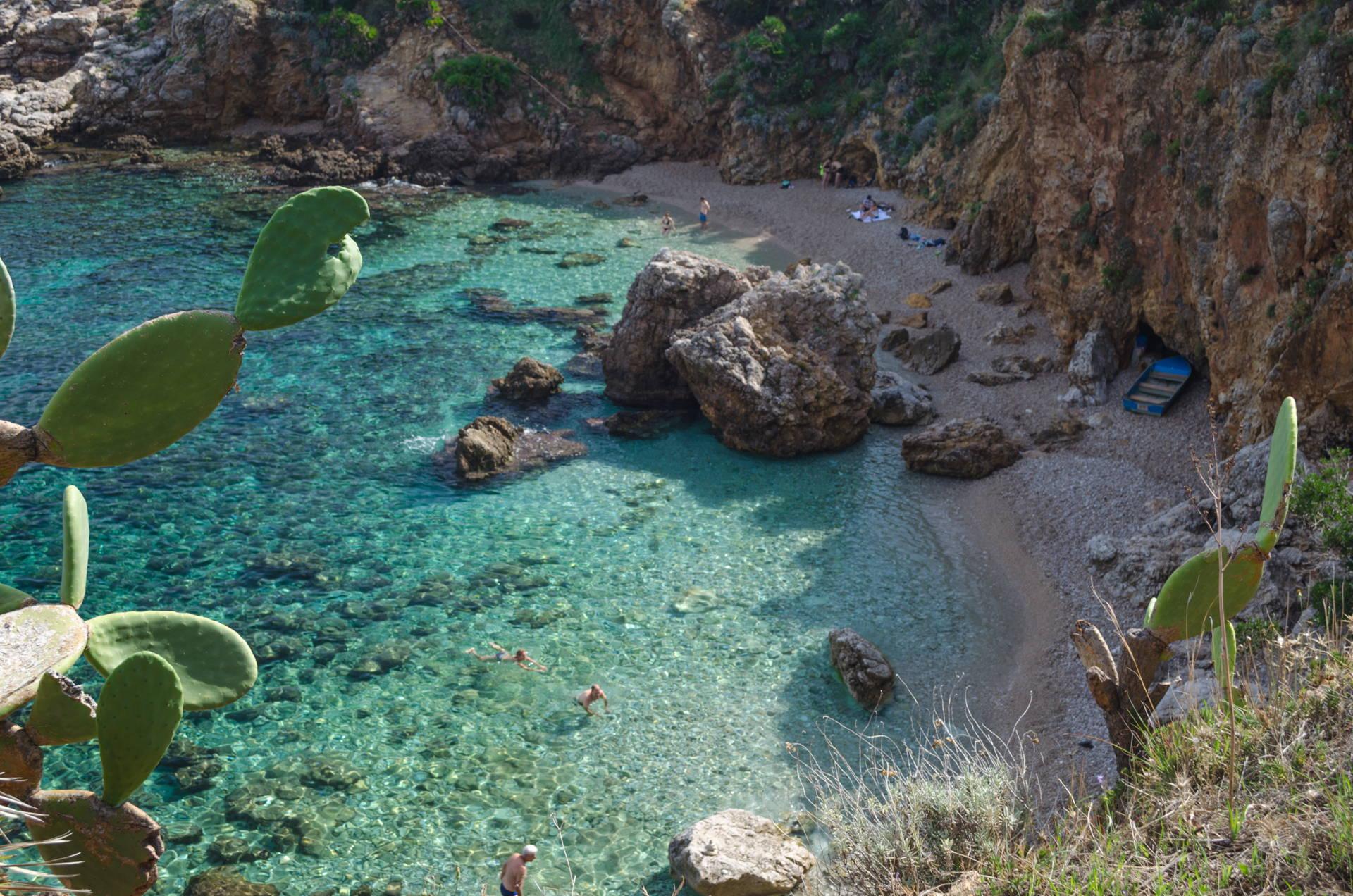 cala disa, disa, disa beach, bay disa, zingaro beach, zingaro nature reserve beaches, best beach of zingaro, zingaro travel guide, where to stay at zingaro,