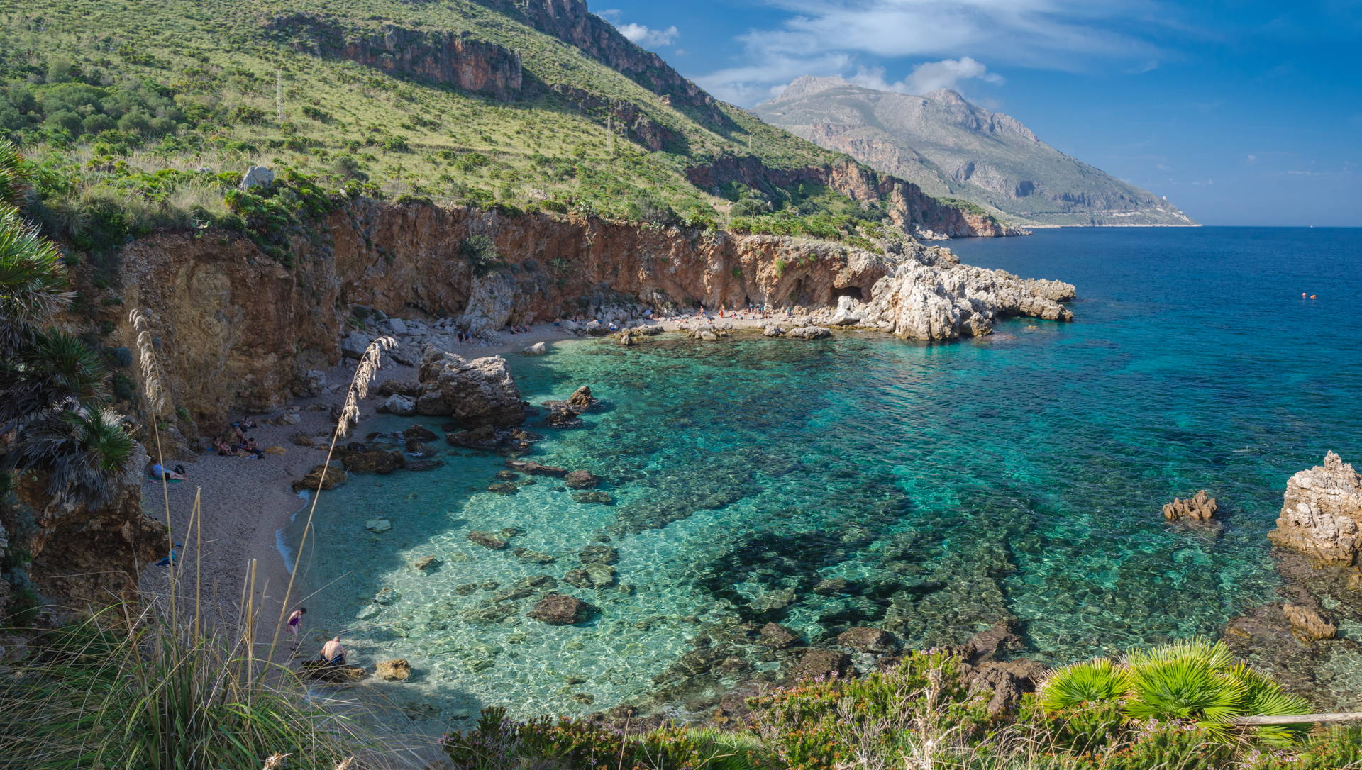 Disa, Disa beach, cala disa, cala zingaro, best beaches of zingaro, zingaro, zingaro natural reserve, best places to visit in sicily, sicily, italy, travel sicily, where to go in sicily, best beaches of sicily