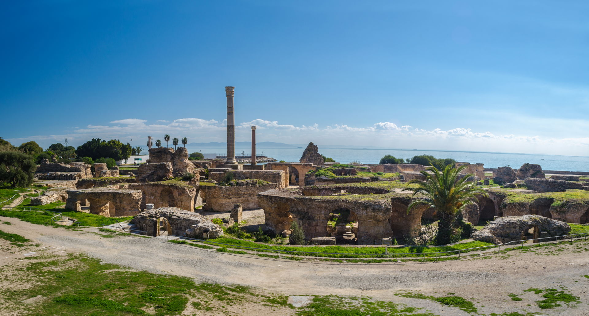 The Baths of Antoninus, baths of carthage, antonius baths, what to do in carthage tunisia, sightseeing carthage, punic civilization, backpacking tunisia, backpacking carthage, guide to carthage, how to visit carthage