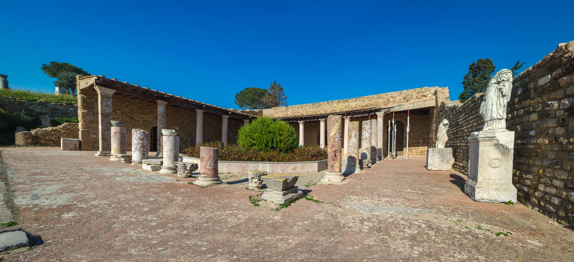 Villa of the Aviary, hadrian villa tunisia, roman villa, roman villas carthage, what to do in carthage tunisia, sightseeing carthage, punic civilization, backpacking tunisia, backpacking carthage, guide to carthage, how to visit carthage